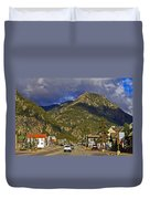 Frisco By The Mountain Duvet Cover