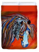 Frisco War Horse Duvet Cover