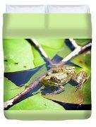 Frog 3 Duvet Cover
