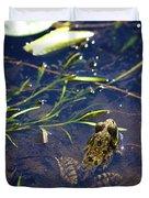 Frog 5 Duvet Cover