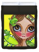 Frog Fairy Duvet Cover