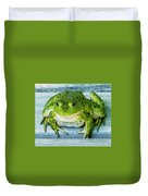 Frog Portrait Duvet Cover
