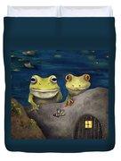 Frogland Detail Duvet Cover