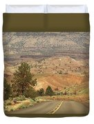 From Mitchell To Smith Rock  Duvet Cover