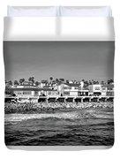 From Redondo Beach Pier Duvet Cover