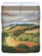 From Solsbury Hill Duvet Cover by Anna Teasdale