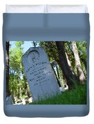 From The Grave Duvet Cover