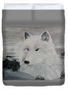 From The Mist Of The Moon Duvet Cover