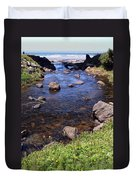 From The Mountains To The Sea Duvet Cover