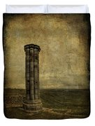 From The Ruins Of A Fallen Empire Duvet Cover by Evelina Kremsdorf