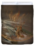 From The Shire To Mordor Duvet Cover