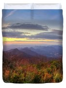 From The Top Of Brasstown Bald Duvet Cover