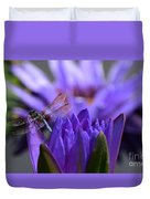 From The Water Lily Garden Duvet Cover