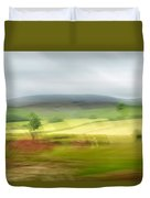 heading north of Yorkshire to Lake District - UK 1 Duvet Cover