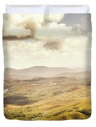 From Zeehan To Trial Harbour Duvet Cover
