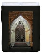 Front Door Christ Church Cathedral 4 Duvet Cover