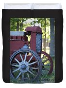 Front End Of A Mccormic Deering Tractor Duvet Cover