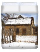 Pioneer Home Painterly Impression Duvet Cover