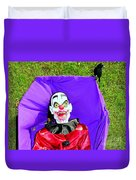 Front Lawn Funeral Duvet Cover