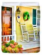 Front Porch 2 Duvet Cover