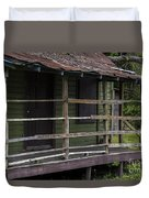 Front Porch Love  Duvet Cover