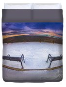Front Row Seat Duvet Cover