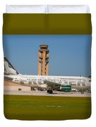 Frontier Airline Duvet Cover