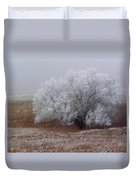 Frost And Fog Duvet Cover