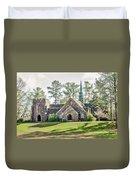 Frost Memorial Chapel Duvet Cover