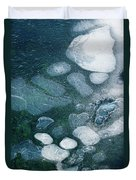 Frosted Bubbles Duvet Cover