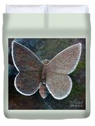 Frosted Butterfly Duvet Cover
