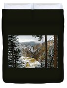 Frosted Canyon Duvet Cover