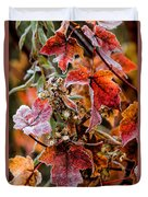 Frosted Fall Duvet Cover