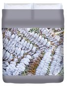 Frosted Fern Duvet Cover