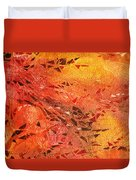 Frosted Fire I Duvet Cover