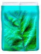 Frosted Leaf Duvet Cover