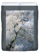 Frosted Limbs Duvet Cover