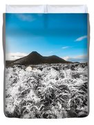 Frosted Over Hinterland Duvet Cover
