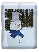 Frosty Alaskan Duvet Cover