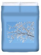 Frosty Branch Duvet Cover