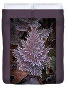 Frosty Fern Christmas Duvet Cover