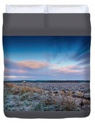 Frosty Fields Duvet Cover