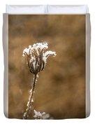 Frosty Flower Remains Duvet Cover
