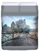 Frosty Lane Duvet Cover