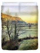 Frosty Morning Light Duvet Cover