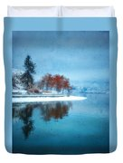 Frosty Reflection Duvet Cover