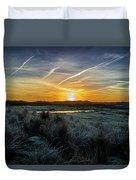 Frosty Sunrise Duvet Cover