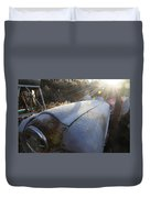 Frosty Tractor Duvet Cover