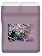 Frosty Twigs Duvet Cover
