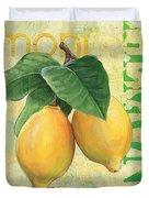 Froyo Lemon Duvet Cover